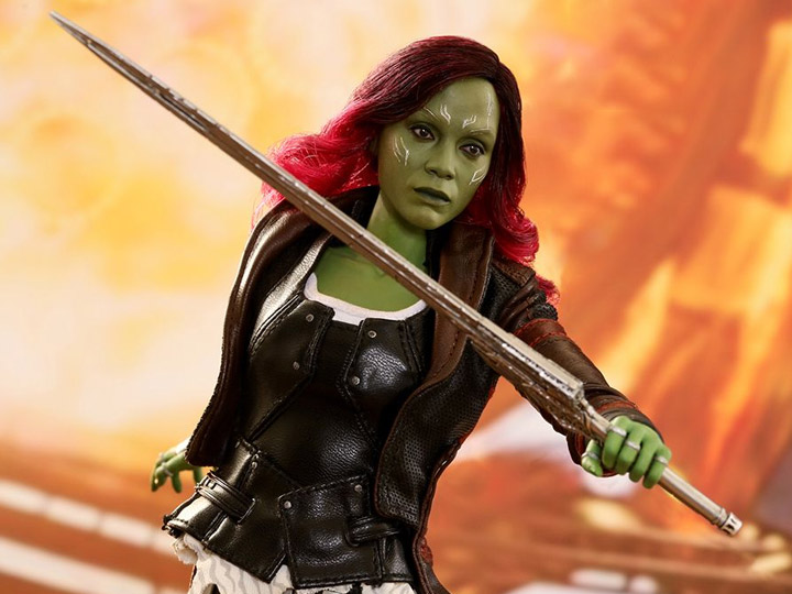 Guardians of the Galaxy Vol Gamora 2 Hot Toys 1//6 MMS483
