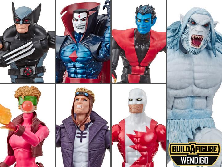 "Marvel legends X-Force Wolverine Wendigo 6/"" Figure en stock"