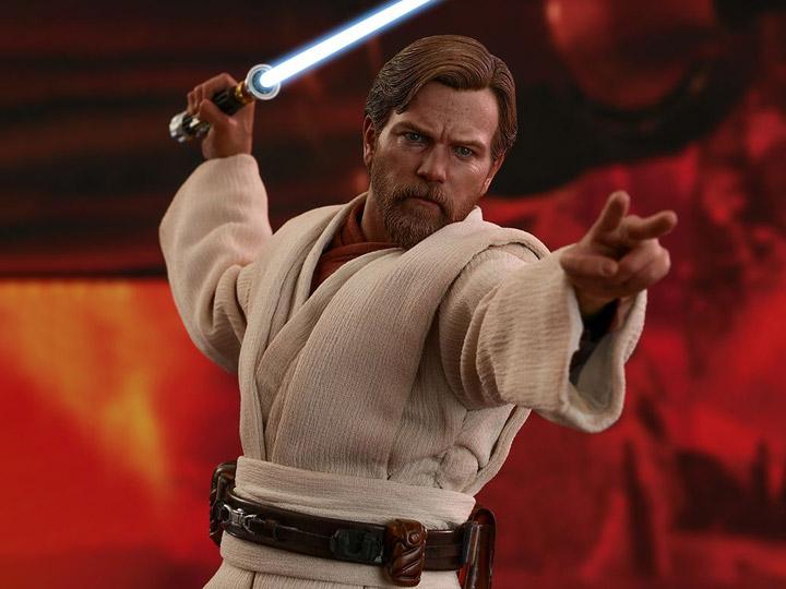 Star Wars Revenge Of The Sith Mms477 Obi Wan Kenobi 1 6th Scale Collectible Figure