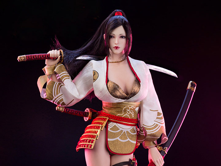 Gold Metal Necklace Nohime Japanese Heroine 1//6 Scale Very Cool Figures