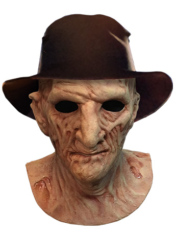 A Nightmare on Elm Street 2 Deluxe Freddy Krueger Mask With Fedora