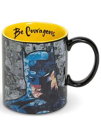 """DC Comics Batman """"Be Courageous"""" Mug"""