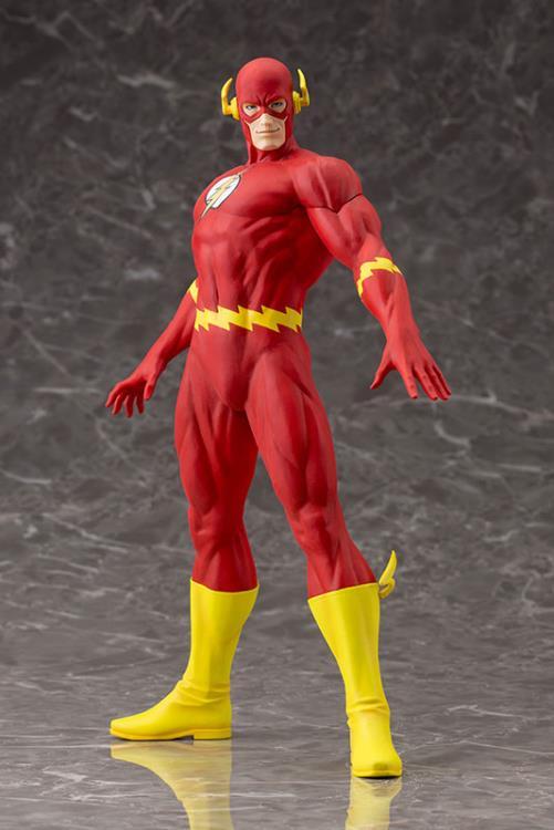 DC COMICS THE FLASH CLASSIC COSTUME STATUE //FIGURE KOTOBUKIYA //ARTFX