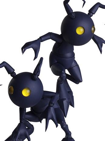Kingdom Hearts III Bring Arts Shadow Two-Pack