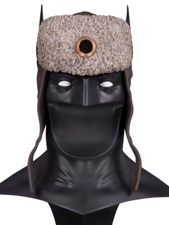 Superman: Red Son DC Gallery Red Son Batman Cowl 1/2 Scale Limited Edition Replica