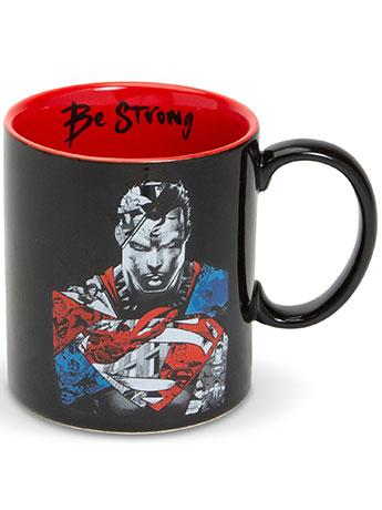 "DC Comics Superman ""Be Strong"" Mug"