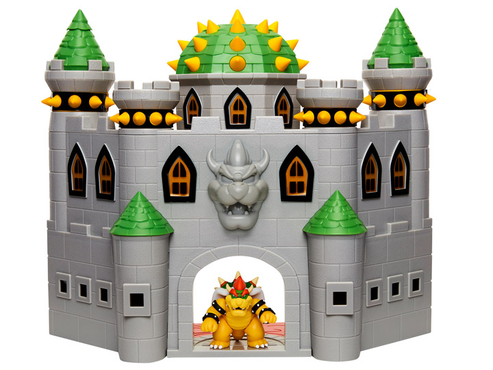 World Of Nintendo 2 50 Deluxe Bowser Castle Playset