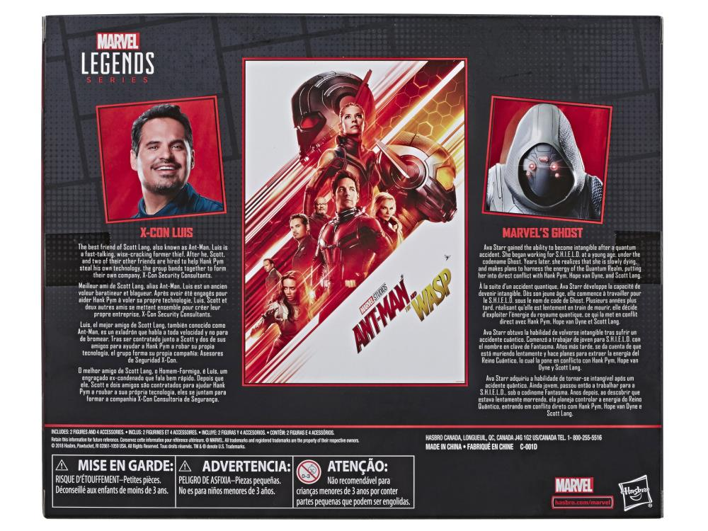 Marvel Legends 80th Anniversary Action Figure Ghost /& Luis 2-Pack