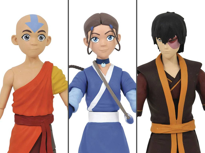 DIAMOND SELECT AVATAR THE LAST AIRBENDER AANG ACTION FIGURE NEW