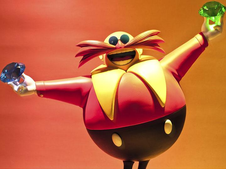 Sonic The Hedgehog 2 Dr Robotnik Statue