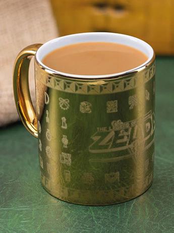 The Legend of Zelda Gold Glossary Mug