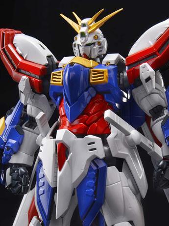 Gundam Hi-Resolution Model 1/100 God Gundam Model Kit