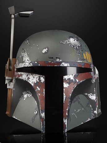 Star Wars: The Black Series Boba Fett 1:1 Scale Wearable Helmet (Electronic)