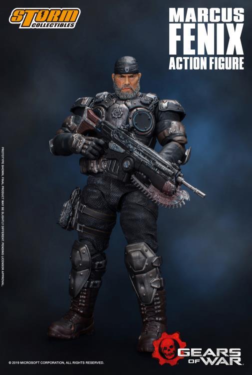 Gears Of War Marcus Fenix 1 12 Scale Figure