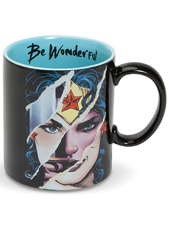 "DC Comics Wonder Woman ""Be Wonderful"" Mug"