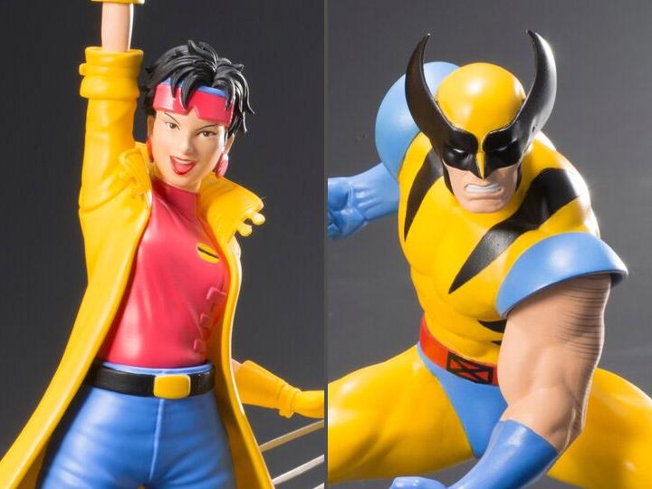 Statue animée Kotobukiya Marvel X-Men/'92 WOLVERINE /& Jubilee 1//10 ARTFX