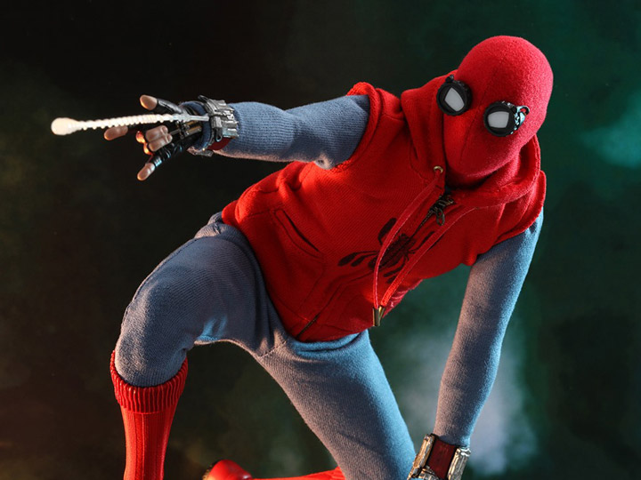 1//6 Hot Toys Marvel Spider-Man Far From Home Homemade Suit Action Figure MMS552