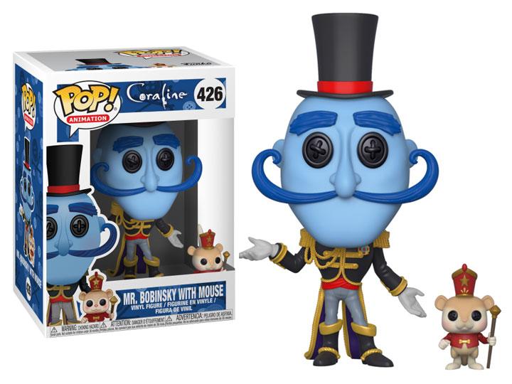 Pop Movies Coraline Mr Bobinsky With Mouse