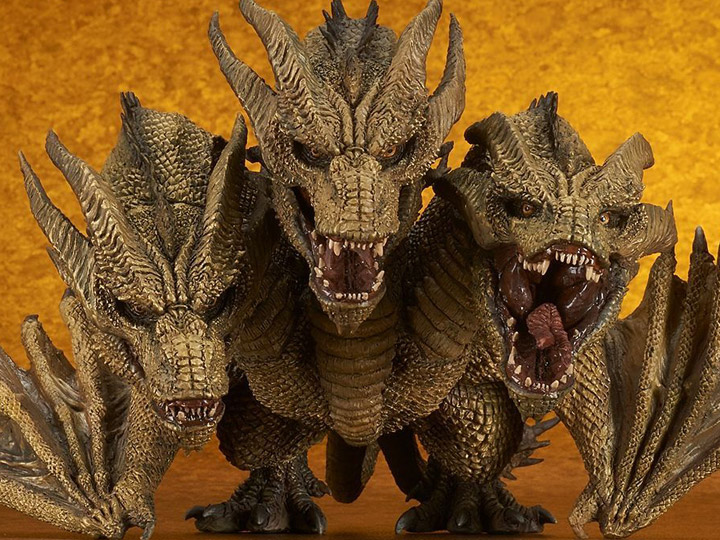 Godzilla: King of the Monsters Defo-Real King Ghidorah Gallery Image 1
