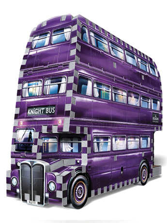 Harry Potter The Knight Bus 280-Piece 3D Puzzle