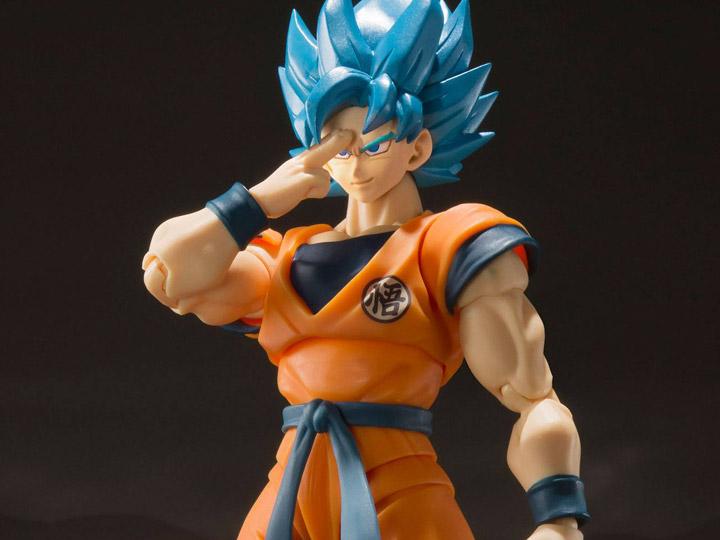 Bandai S.H Figuarts Dragon Ball Super SSGSS Son Gokou SHF Figure Goku