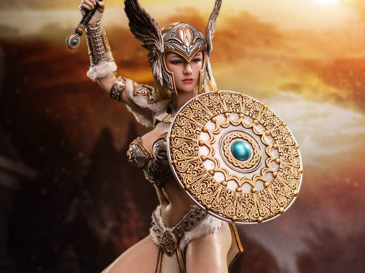 Tariah Silver Valkyrie-Display Base 1//6 Scale-TBLeague Action Figures