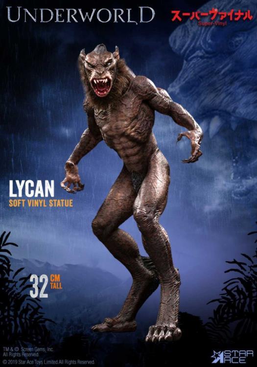 Star Ace Toys Underworld Evolution Lycan Vinyle Souple Statue