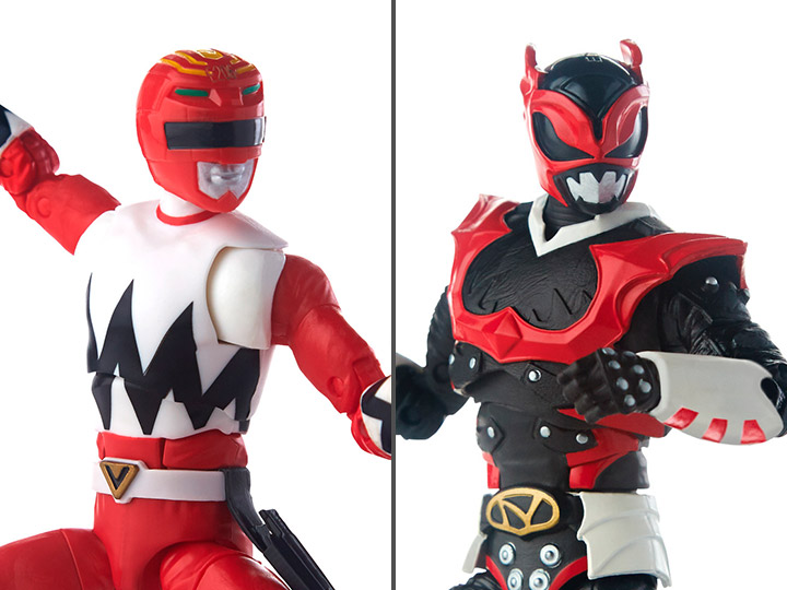 Power Rangers Lightning Collection Red Ranger Psycho Red Ranger Two Pack