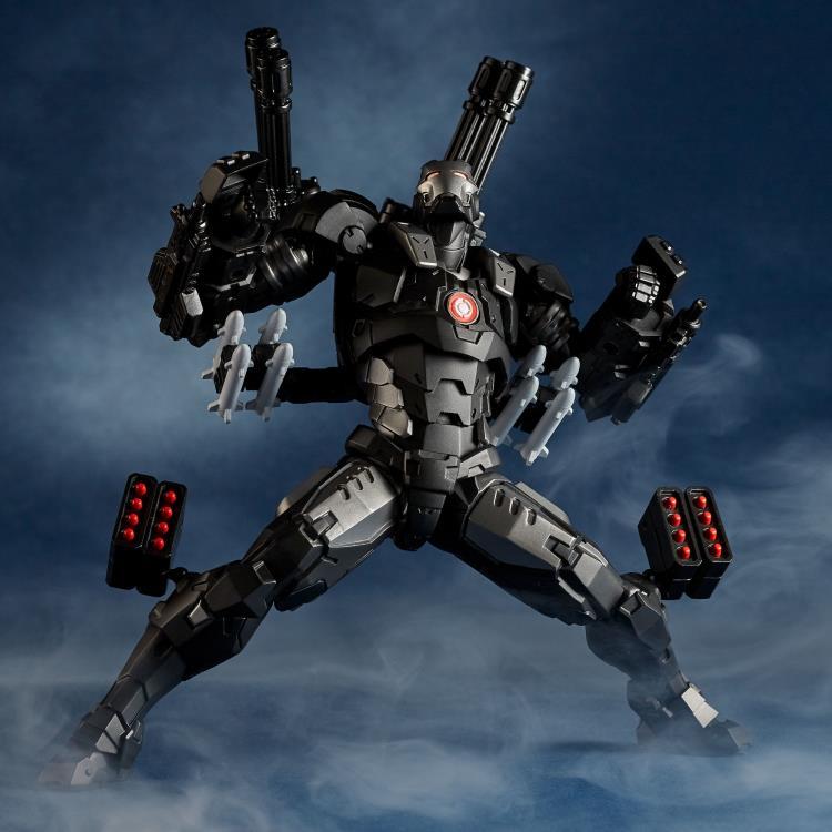 AMAZING YAMAGUCHI War Machine Marvel Ironman Action Figure Revoltech Kaiyodo