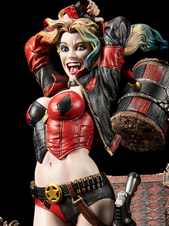 DC Premium Collectibles DC Rebirth Harley Quinn Limited Edition Statue