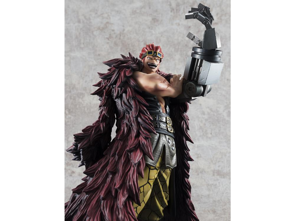 One Piece Portrait of Pirates Eustass Captain Kid Limited Excellent Model Figure