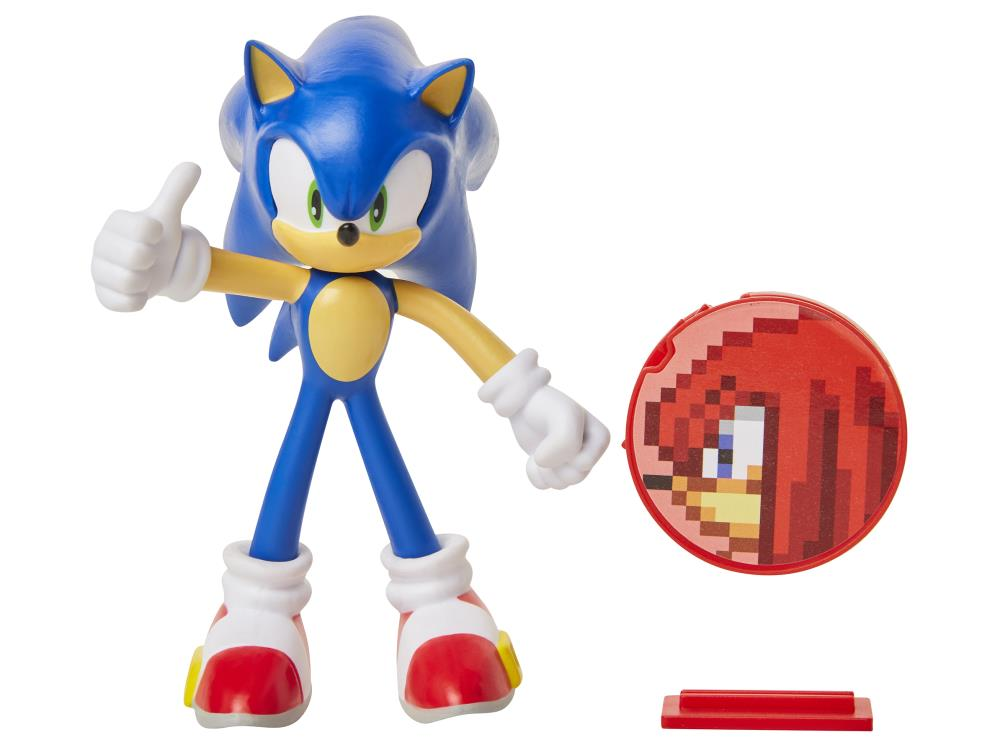 Sonic The Hedgehog 4 Basic Sonic Bendy Figure