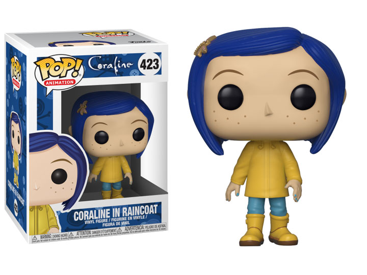 Pop Movies Coraline Coraline In Raincoat