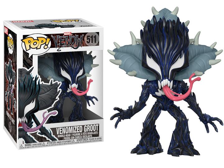 FUNKO POP New Toy MARVEL: Marvel Venom GROOT  MARVEL VENOM Groot