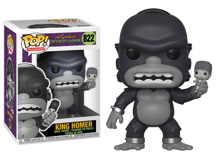 Funko Pop Animation: Simpsons Tree House of Horror-King Homer 39724 in environ 100898.96 cm Stock