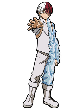 My Hero Academia FiGPiN #166 Shoto Todoroki