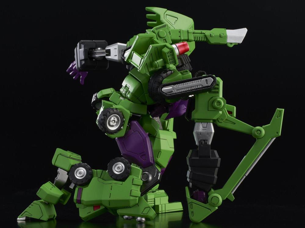 In STOCK Flame Toys Transformers Devastator Model Kit