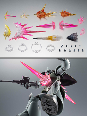 Gundam Robot Spirits Effect Parts Set (ver. A.N.I.M.E.)