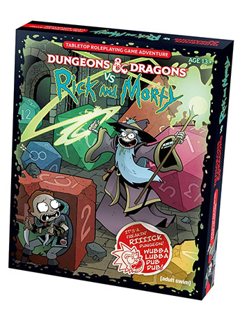 Dungeons & Dragons vs. Rick and Morty Tabletop Game