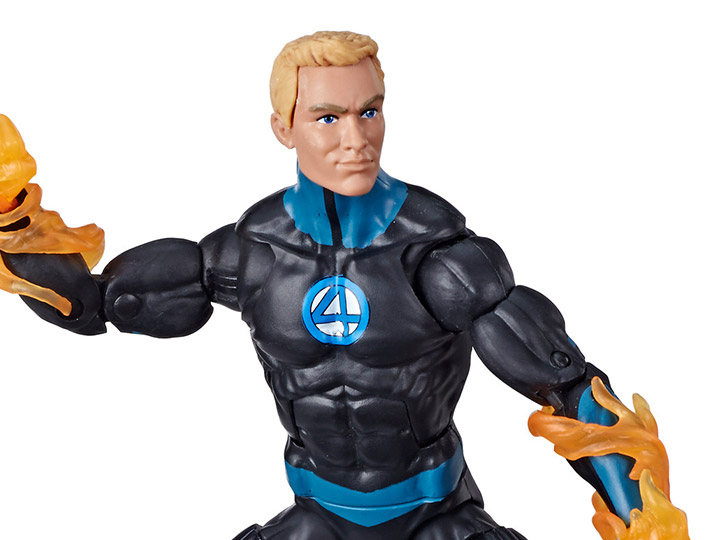 marvel legends The Human Torch Hasbro