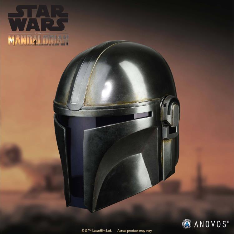 The Patriot Mandalorian helmet
