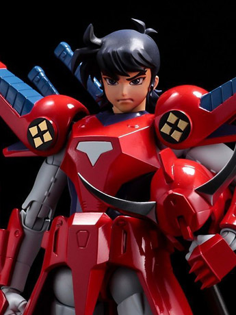 In Stock: Ronin Warriors Chodankado Ryo of the Wildfire 1/12 Scale Figure