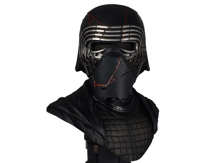 Star Wars Legends In 3d Kylo Ren The Rise Of Skywalker 1 2 Scale Limited Edition Bust