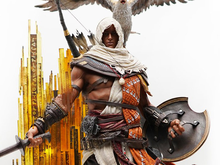 Assassin S Creed Animus Bayek 1 4 Scale Limited Edition Statue