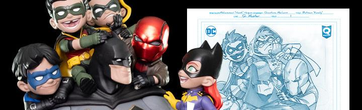 DC Comics Q-Master Batman Family BBTS Shared Exclusive Artist's Signature Edition Diorama