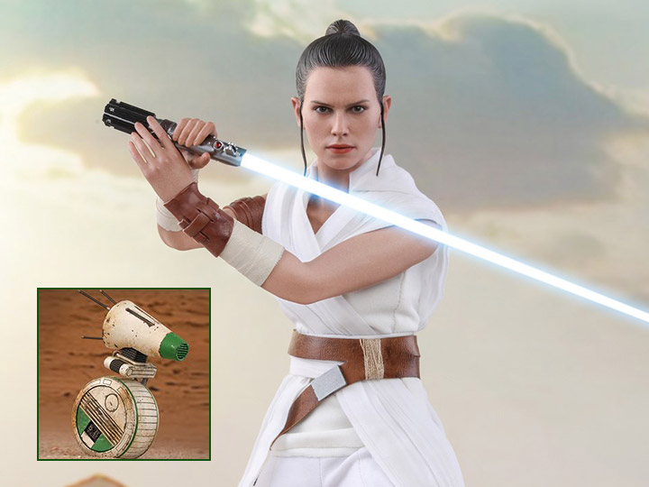 Star Wars The Rise Of Skywalker Mms559 Rey D O 1 6 Scale Collectible Figure Two Pack