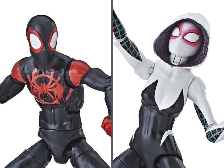 "SPIDER-GWEN Nouveau Marvel Legends 6/"" Miles Morales SPIDER-MAN en Spider-verse"