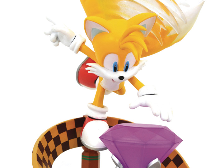 Diamond Select Tails Diorama Sonic The Hedgehog Tails Figure