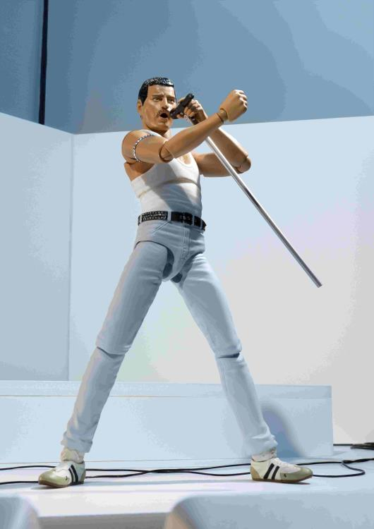 S.H.Figuarts Freddie Mercury Action Figure 2019 New SHF Bandai SALE