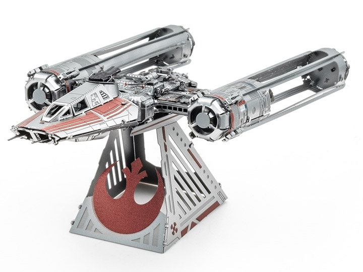 Star Wars Metal Earth Zorii S Y Wing Fighter The Rise Of Skywalker Model Kit